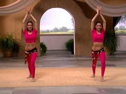 Восточные танцы   Урок 4 - Сжигание жира