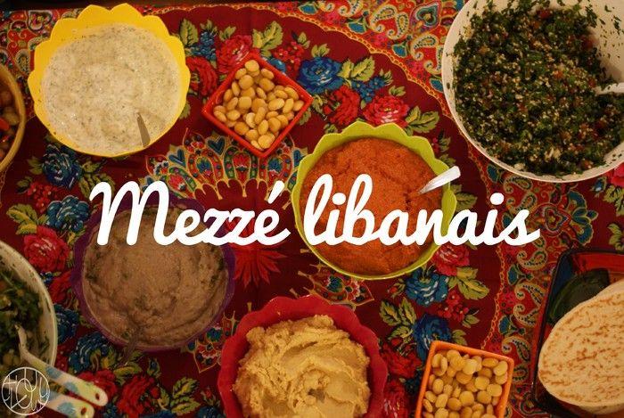 Mezze libanais !