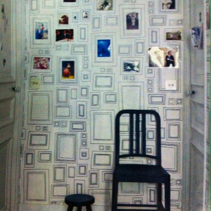 Frame Wallpaper - la carta da parati che ti risolve il problema delle cornici grahambrown.com [HOME 02/14]