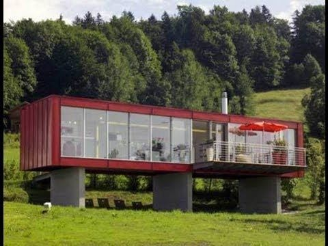 cargo shipping container house in austria by espace mobile may be a good place to look for ideas - How Much Are Container Homes