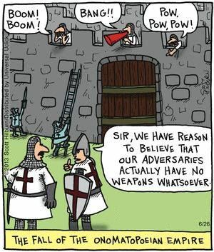 The Fall of the Onomatopoeian Empire