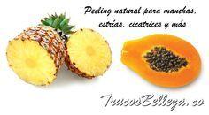 Peeling natural para manchas, estrias, cicatrices y mas