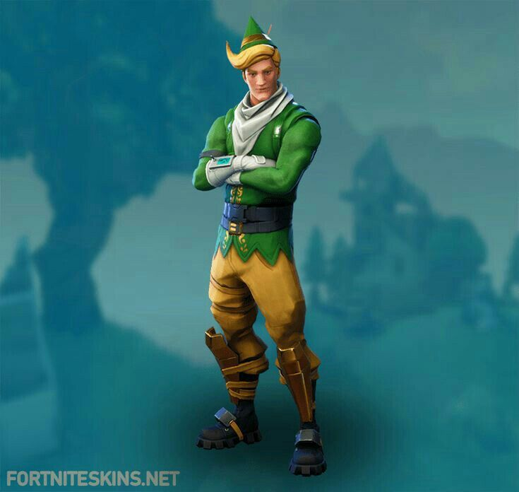Duende Chico Girl With Hat Elf Clothes Fortnite