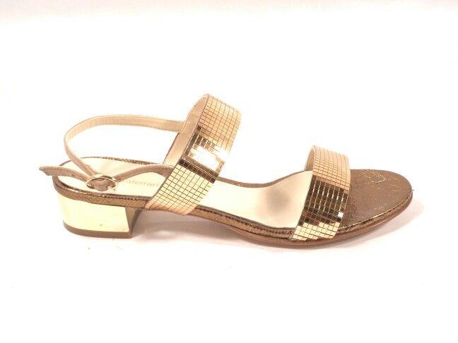 Sandalo con specchietti d'orato.....barbaraferrarishoes