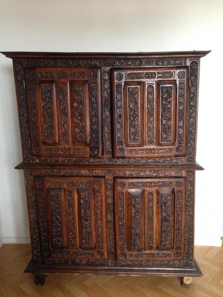 Les 25 meilleures id es de la cat gorie meubles gothiques - Style meubles anciens ...