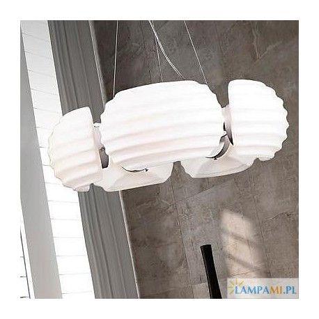Jedna z popularniejszych lamp w naszym sklepie, lampa Rondo (Azzardo): http://zlampami.pl/404-rondo-dh6081-5.html
