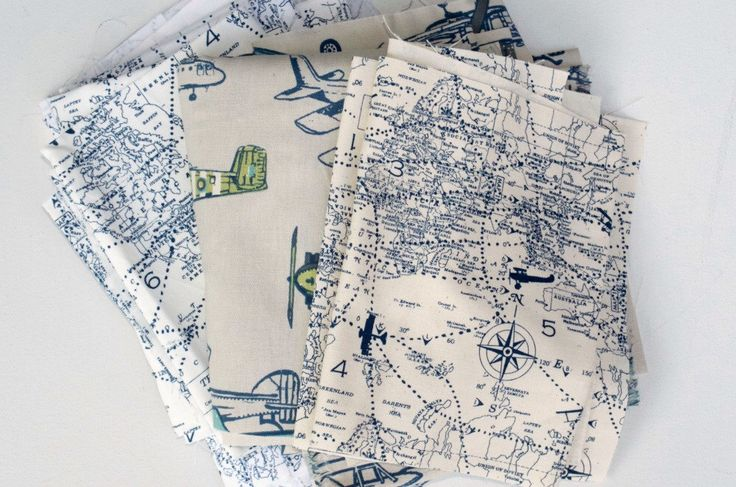 Airplane Map Fabric Scraps Bundle - Air Traffic Map, Vintage Airplane, Home Decor Premier Prints REMNANT CUTS by BeeYourselfFabrics on Etsy https://www.etsy.com/listing/488547459/airplane-map-fabric-scraps-bundle-air