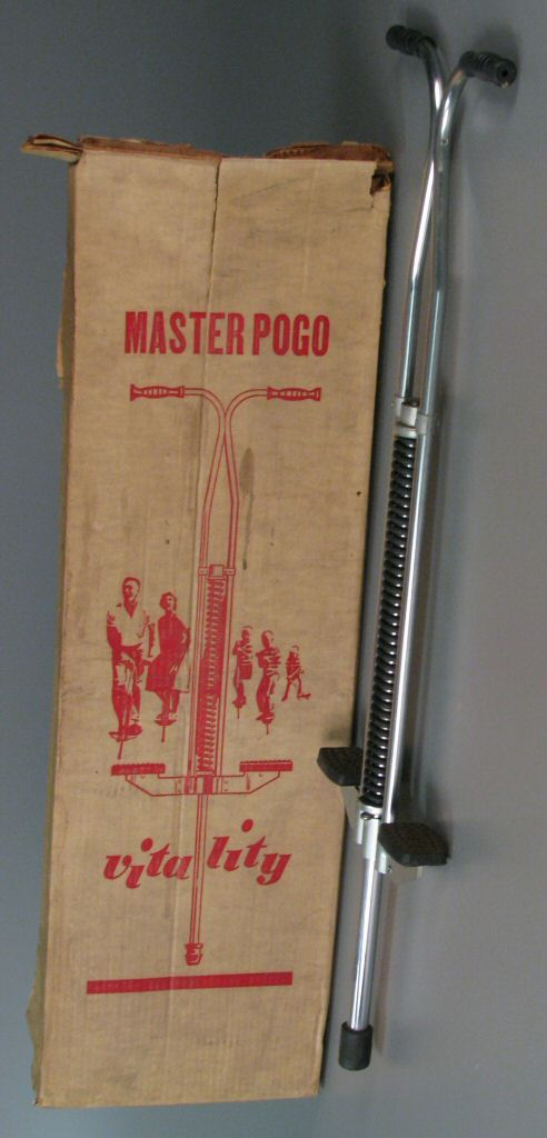 Master Pogo - Vitality pogo stick.