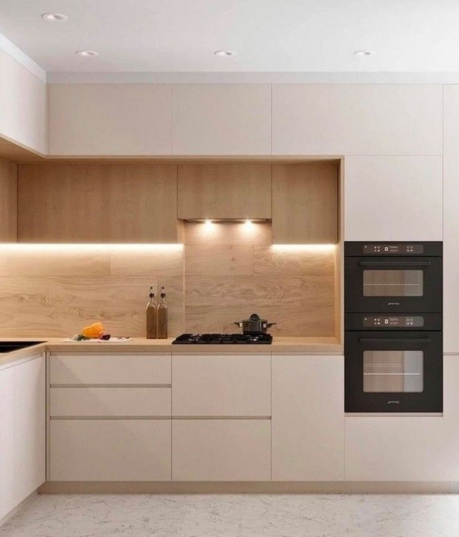 38 Best Elegant Contemporary Kitchen Decor Ideas New Home 39