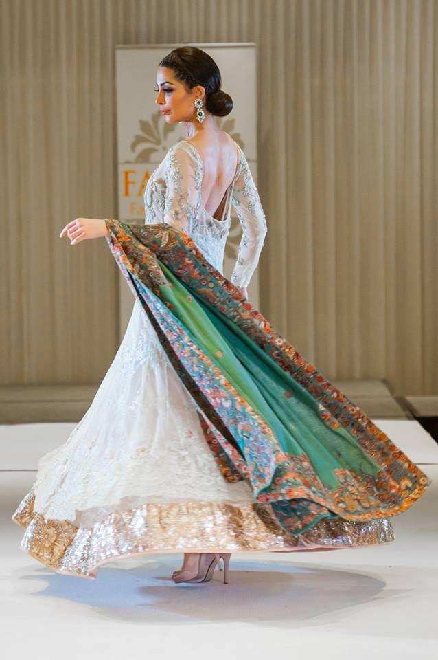 Nida Azwer Kothari Parade Bridal Dress Collection . Pinned by Zartashia