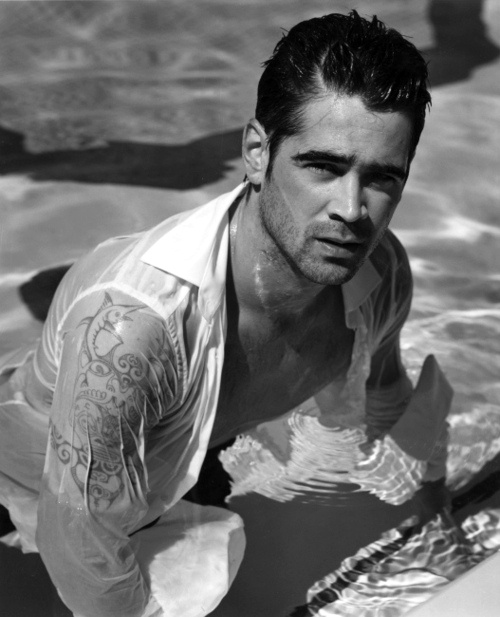 colin farrell...whew! Its hot in here!