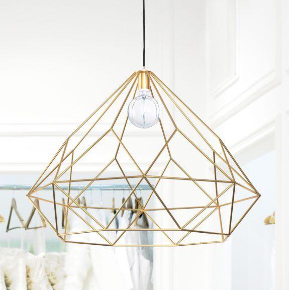 Fancy Extravagante H ngelampe Diamant Loft Design
