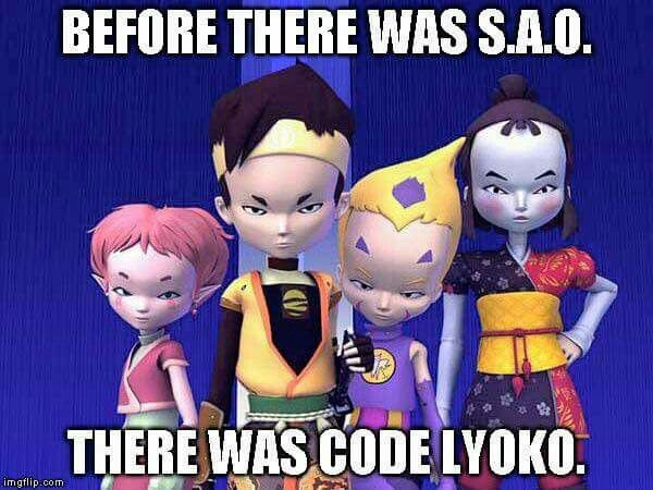 I miss Code Lyoko!