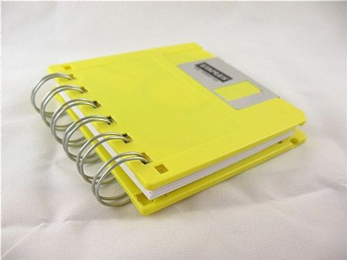 Floppy Disk Notebook | Community Post: 13 New Ways To Use Old Electronics