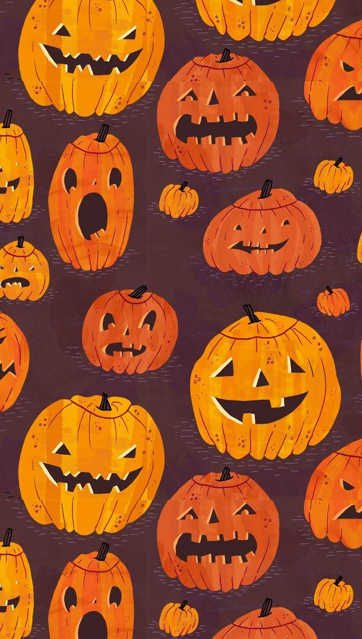 Download Halloween Pattern Wallpaper By Agaaa K Dc Free On Zedge Now Browse Millions Of P Halloween Patterns Halloween Wallpaper Free Halloween Wallpaper