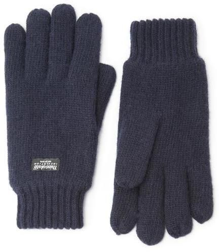 $16, Austin Reed Navy Thinsulate Gloves. Sold by Austin Reed. Click for more info: https://lookastic.com/men/shop_items/389986/redirect