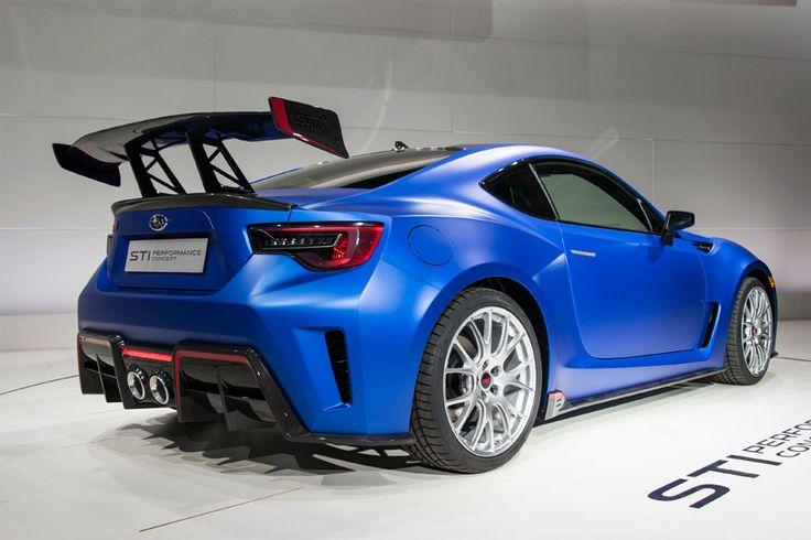 subaru BRZ STI performance concept unveiled at 2015 new york auto show