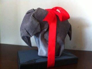 Origami fabric  - Mr Violin Peter crease pattern