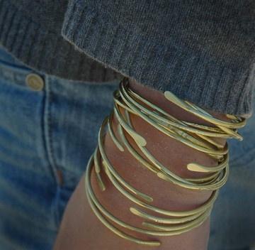 "*Brass Cuff - ""The Bonnie Bracelet"""