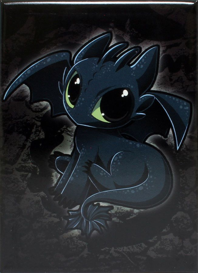 How To Train Your Dragon Baby Toothless Chibi