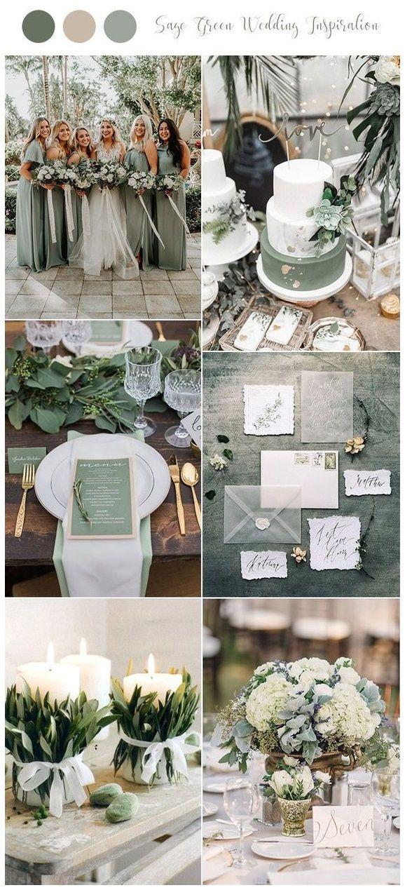 Sage Green wedding color palette is earthy dreamy.  #blissfulelopements #elopech…