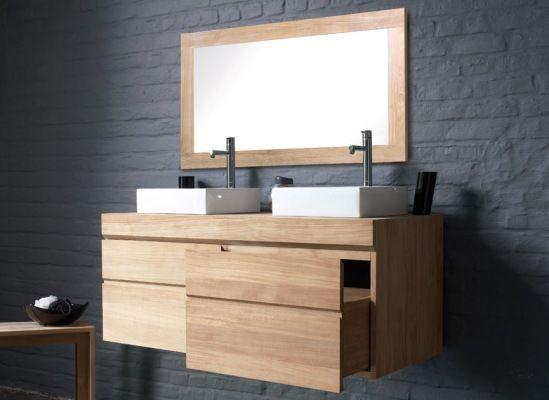 meuble de salle de bains urban de line art - Meuble Delpha Unique Onde