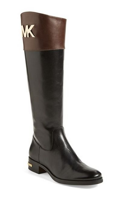 Classic riding boots by Michael Kors
