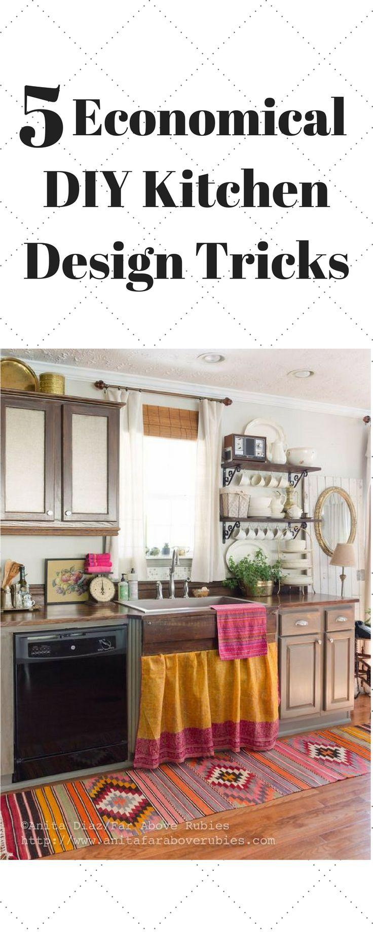Spectacular  Economical DIY Kitchen Design Tricks kitchen ideas kitchen design kitchen island