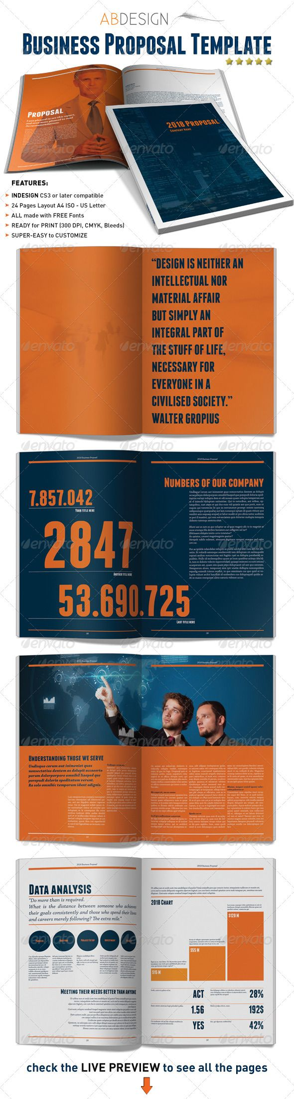 Business Proposal Indesign Template 122 best Business