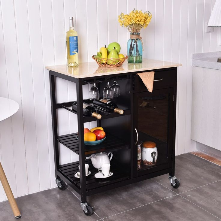 Us Portable Kitchen Rolling Cart Wood Island Serving: Best 25+ Rolling Carts Ideas On Pinterest