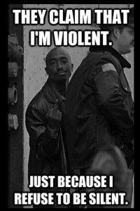 TUpac Quotes Violent Images