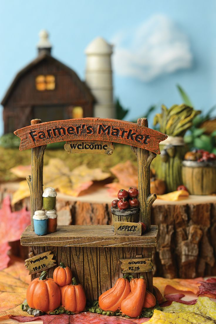Fall fairy garden - find everything you need for your fairy garden at A.C. Moore - fairy garden ideas - cute fairy garden