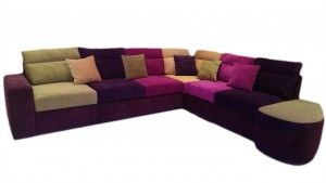 Colorful Sofa With Storage