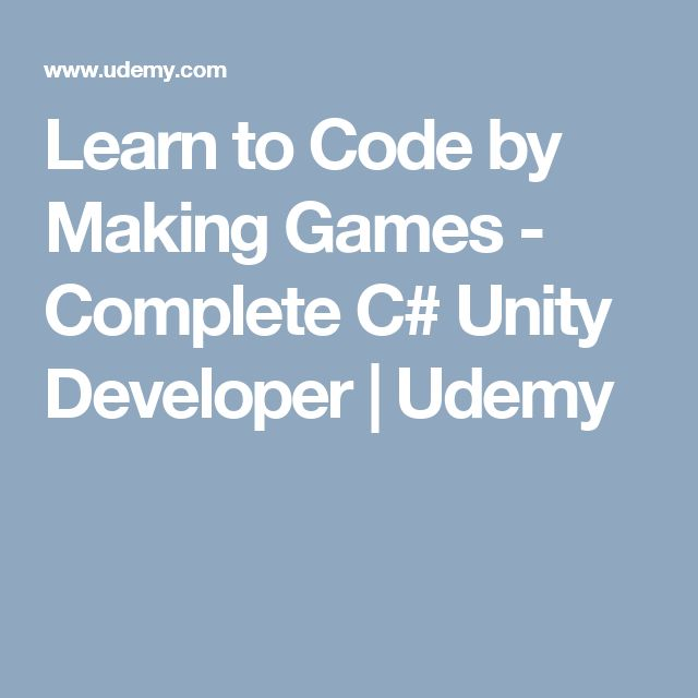 Learn How To Code In Unity - C# & Js - Tutorial 001 - The ...