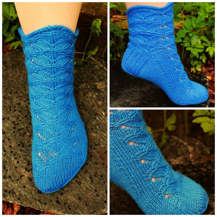 Knitting Pattern For Leg Socks : 517 best images about Crochet or knit socks, slippers and ...