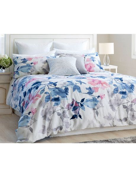 Give your bedroom a fresh look with the Gracious Living Arelho duvet cover set…