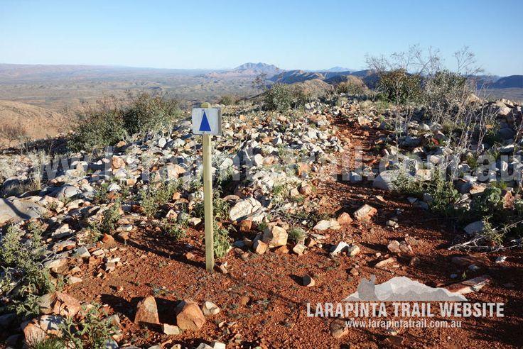 Rocky terrain on  high ground of Section 9.  © Explorers Australia Pty Ltd 2014