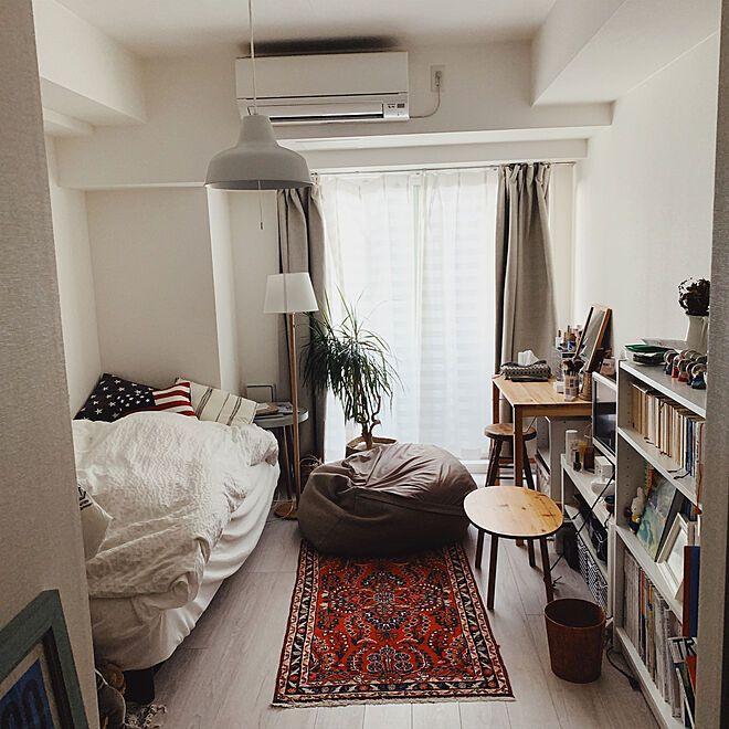 部屋全体 一人暮らしのインテリア実例 2019 02 03 19 58 55 Roomclip ルームクリップ アパートのインテリアデザイン アパートのインテリア インテリアデザイン