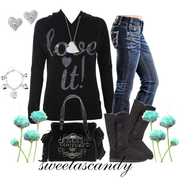 These Bailey Button Triplet boots are the perfect addition to this outfit!