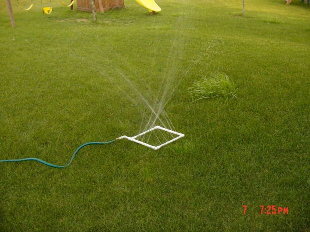 Picture of Homemade water sprinkler