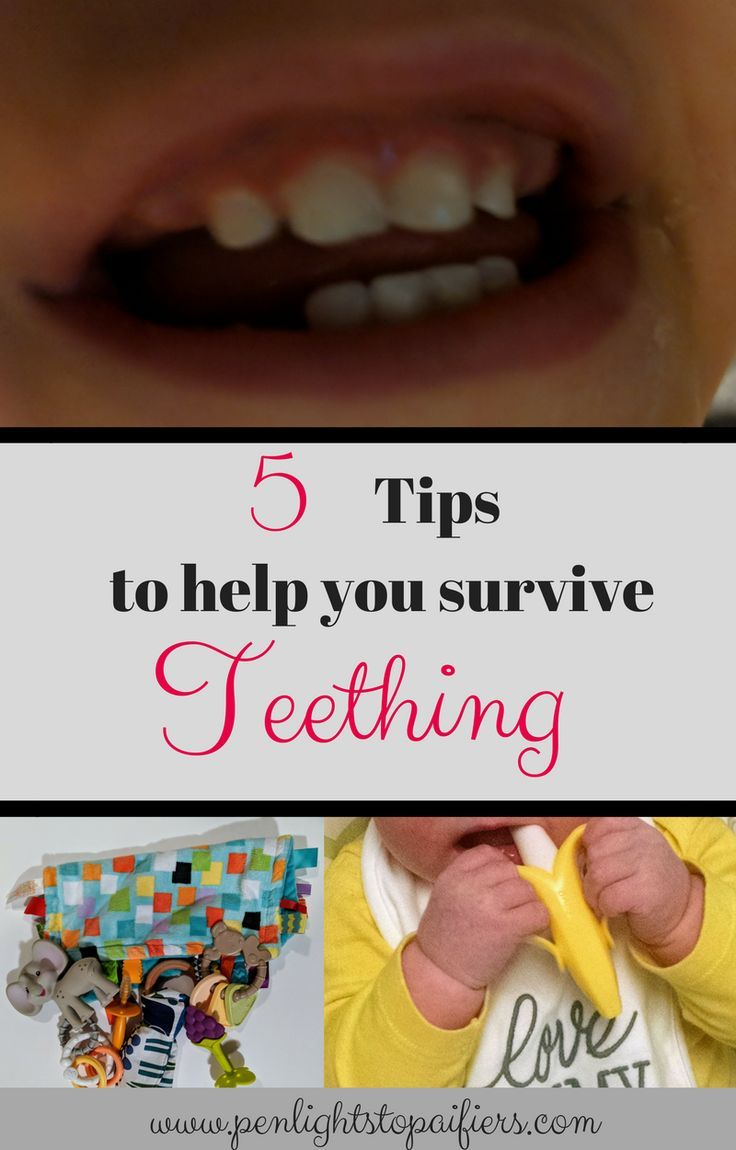 how to help with teething