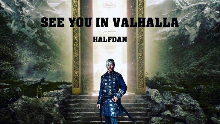 """Gefällt 96 Mal, 3 Kommentare - @i_am_thorson auf Instagram: """"See you in Valhalla Halfdan #halfdan #Valhalla #vikings"""""""