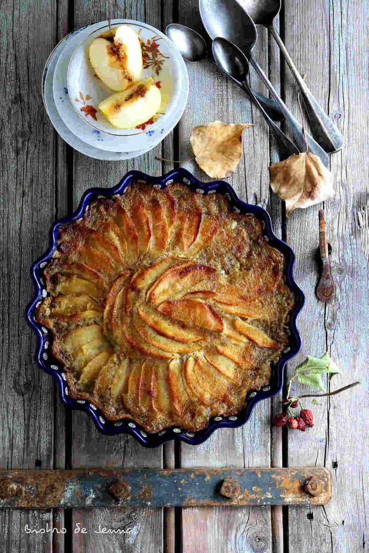 Gâteau fondant aux pommes d'automne