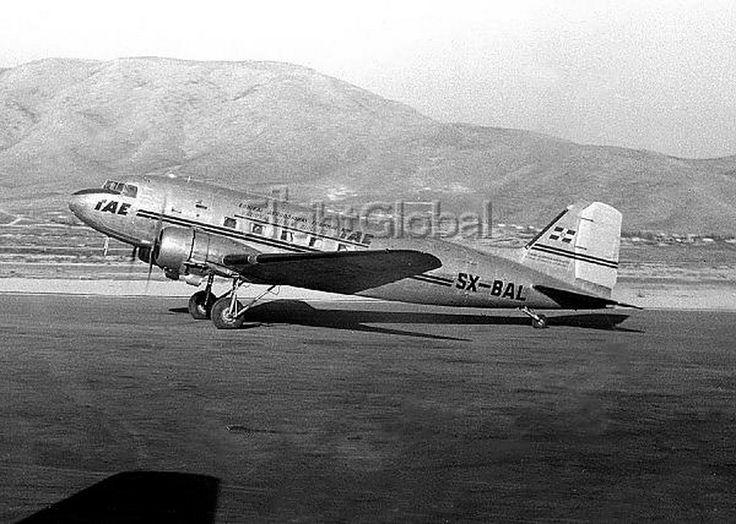 TAE Greek National airlines Douglas C-47A-5-DK (DC-3) [SX-BAL]
