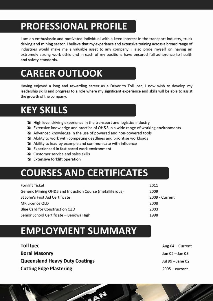 √ 20 delivery driver job description resume in 2020