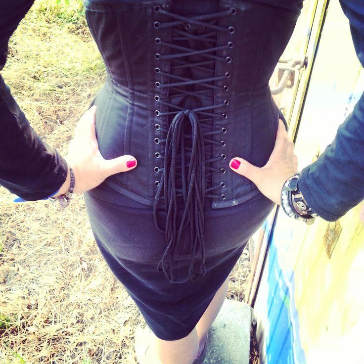 Corset  #steampunk #corset #back