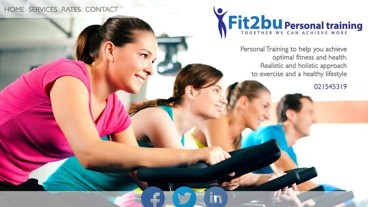 Personal Training Website Mockup   Fit2bu