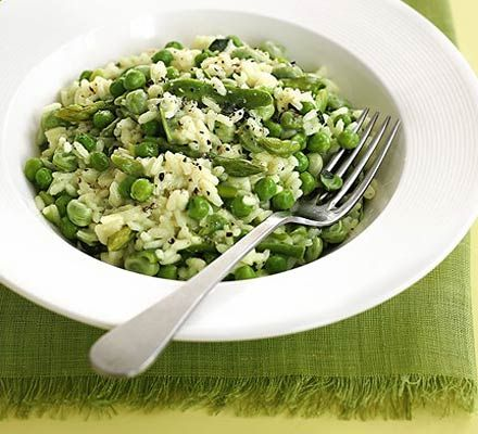 A classic recipe with a cheat's method - just pop this in the microwave for speedy results. High in fibre and folic acid, and low in fat