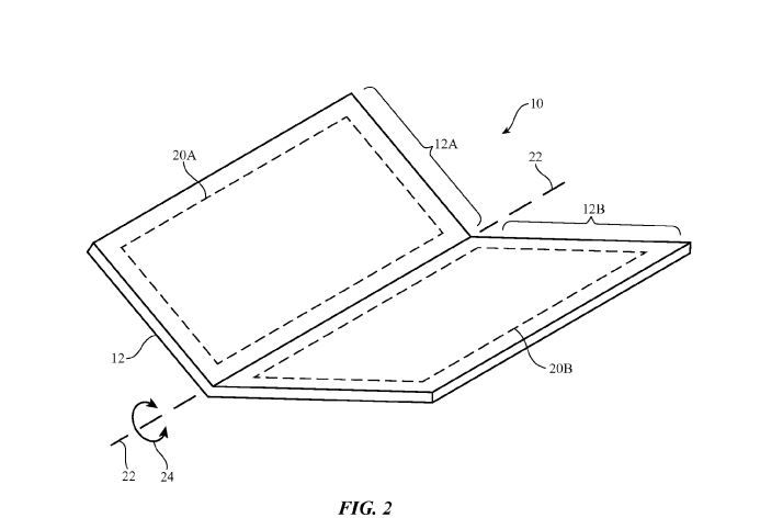 Apple Granted Patent for Bendable Foldable iPhone Design  Apple has been granted a patent for a bendable and/or foldable iPhone design.  Patently Applespotted the patent win for the Cupertino company. The patent includes what appears to be a clamshell design (somewha similar in appearance below to the Nintendo DS and 3DS) but with much more flexibility in how the device bends.   Apple was granted a patent for this bendable foldable iPhone design. Image courtesy of the U.S. Patent and…
