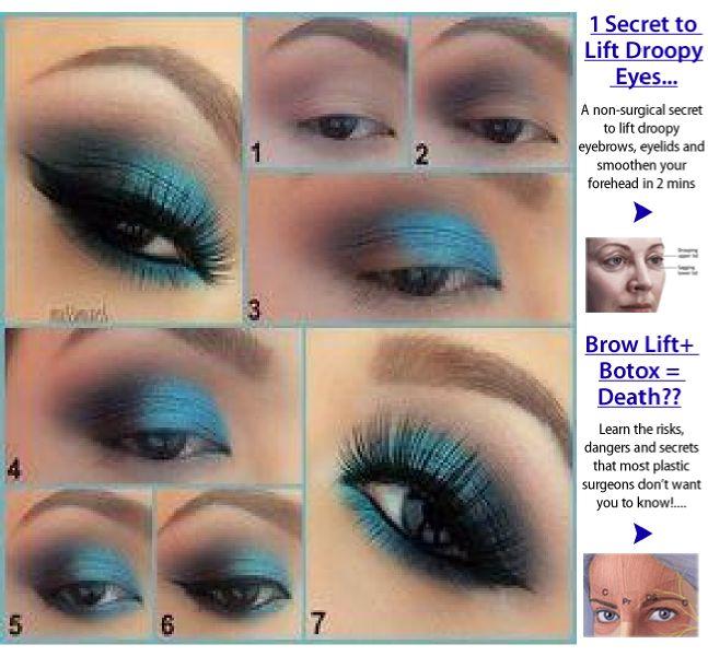 Smokey Eye Makeup Droopy Eyes Makeupview